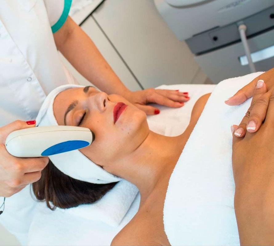 Tratamiento radiofrecuencia en cara
